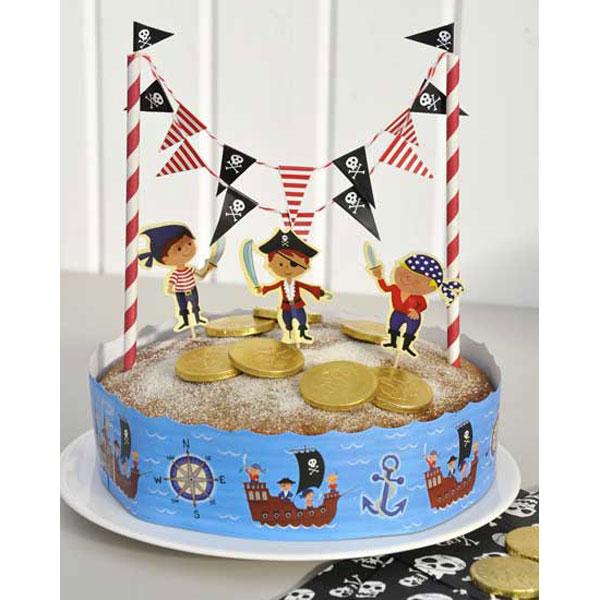 pirate cake bunting