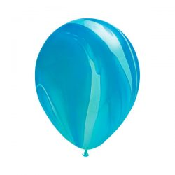 blue marble balloon