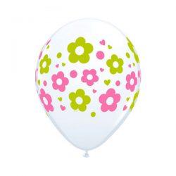 daisy dots balloons