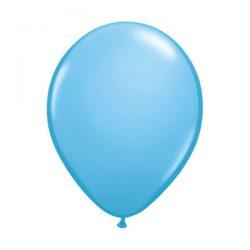pale blue balloon