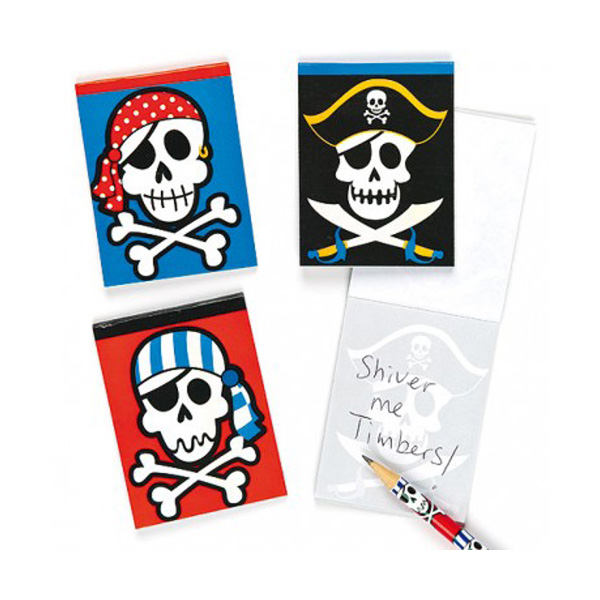 pirate notebook