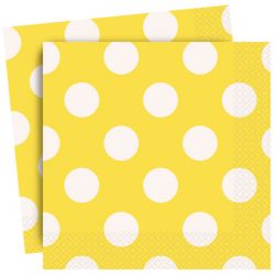 yellow spot napkins