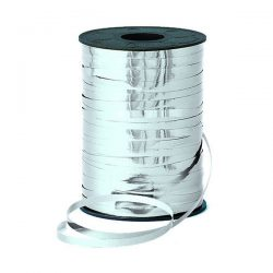 curling ribbon silver