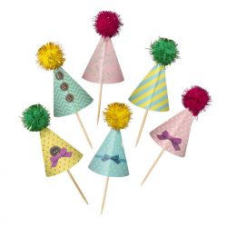 frills and frosting cake toppers assorted