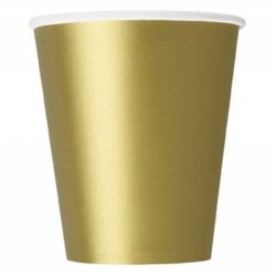 plain gold cups