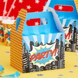 pop super hero food box