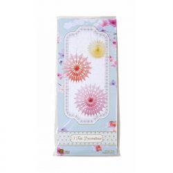 sorbet fan decorations packaging