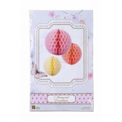 sorbet honeycomb decorations