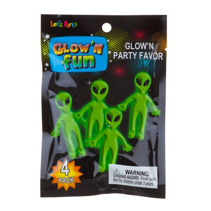 glow fun toys aliens