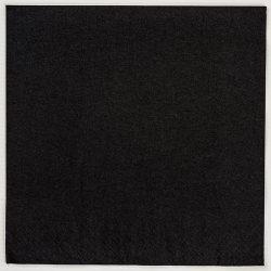 black paper napkin