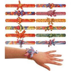 Animal slapband bracelets