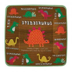 Dinosaur paper plates