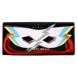 Superhero party masks pack