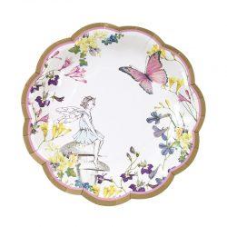 Truly fairy plate, blue fairy