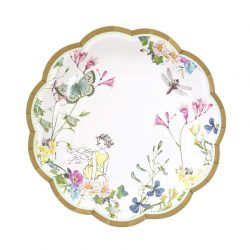 Truly Fairy plate, yellow fairy