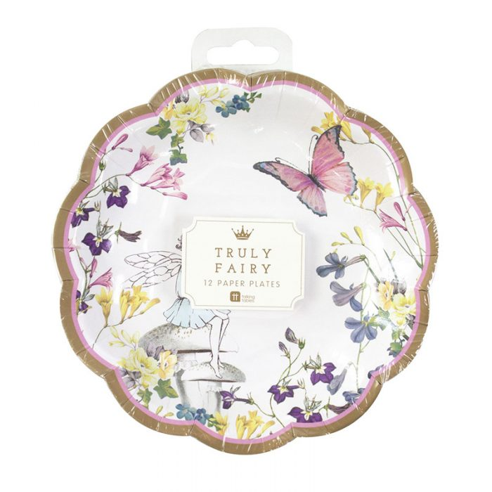Truly Fairy paper plates pack