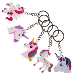 Unicorn keyrings designs