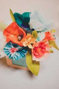 How to use crepe paper streamers the party pirate if you have a few left over bits of crepe streamer or want to re use the paper streamers after your party you could try making crepe paper flowers mightylinksfo