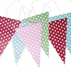 Spotty Paper Bunting