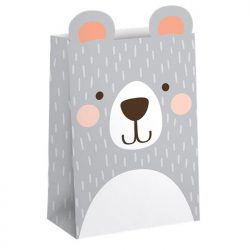 Birthday Bear Paper Party Bag