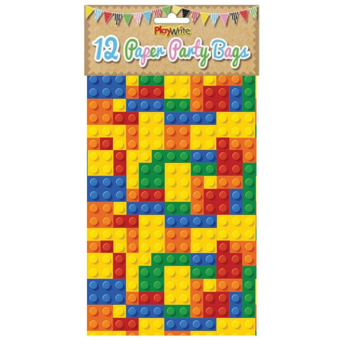 Block Paper Party Bag