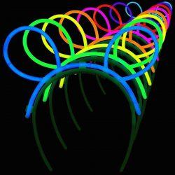 Glow stick bunny ears