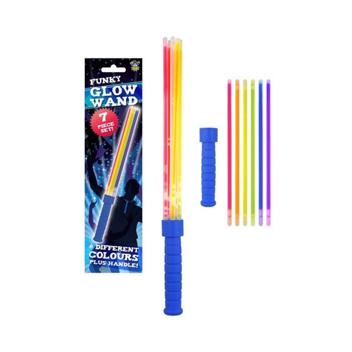 Glow stick wand