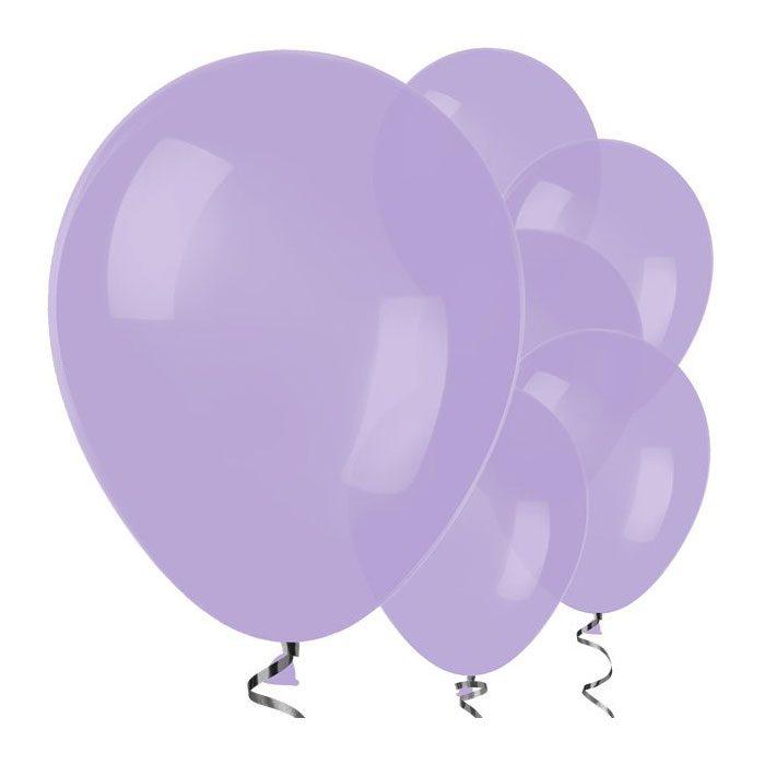 Lilac balloons