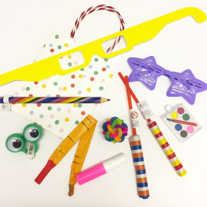 rainbow party bag fillers
