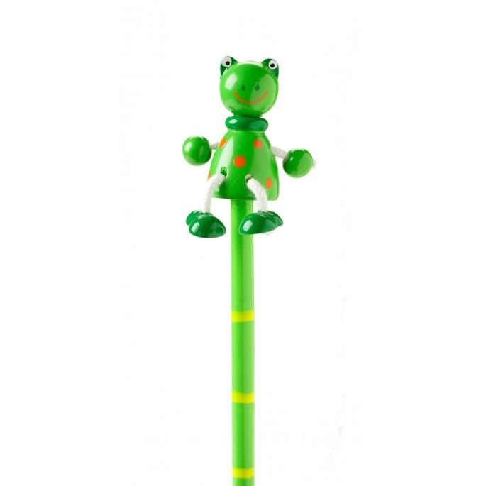 Wooden Frog Pencil