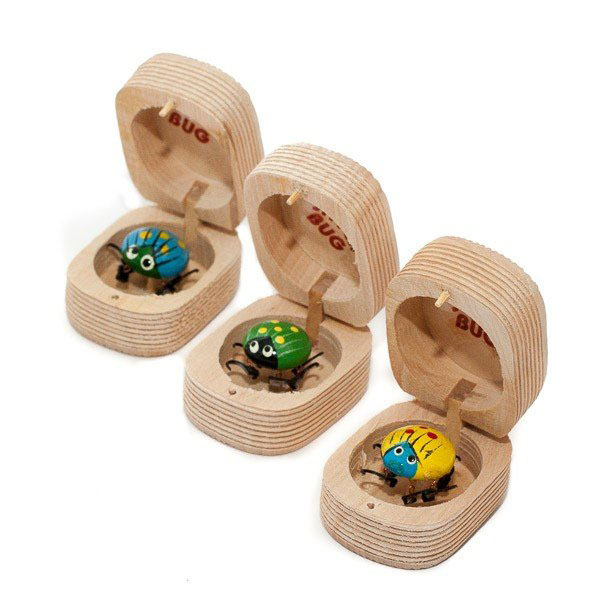 Wooden jitterbugs