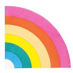 Rainbow napkin