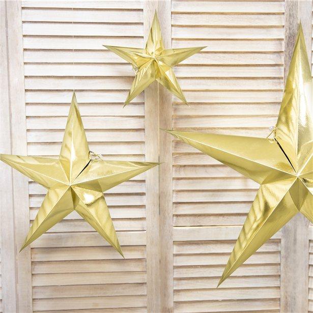 3 gold stars