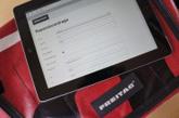 iPad und FREITAG-Tasche