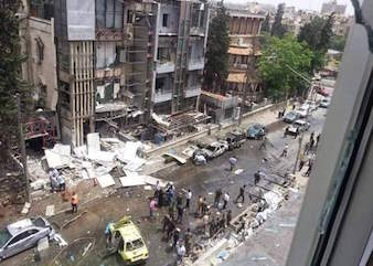 Syyrian kristityt Aleppon tulihelvetissä