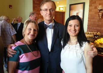 Kiitos Suomen Armenian-suurlähettiläälle