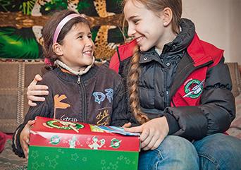 """""""Oli ihana nähdä kuinka onnellinen Mihaela oli lahjasta."""""""