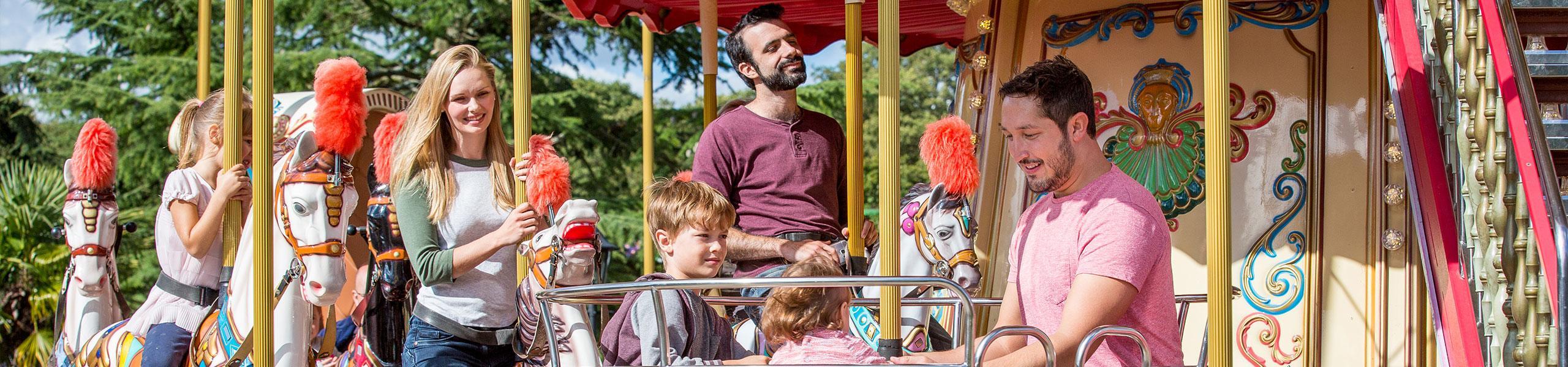 Victorian Horse Carousel Ride