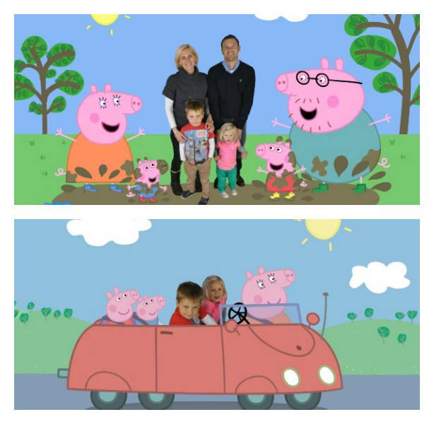 Peppa Pig Photo Scenes 1