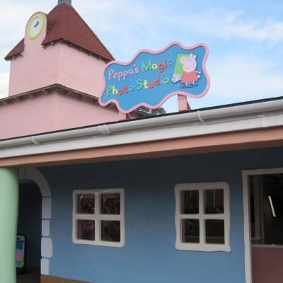 Peppa's Magic Photo Studio in Peppa Pig World