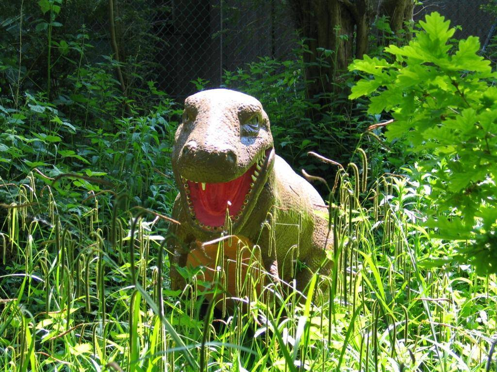 Land of the Dinosaurs at Paultons Park