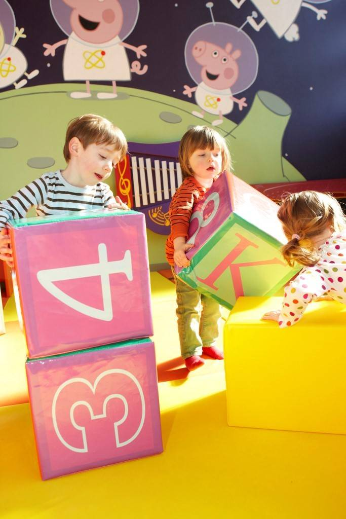 Toddlers Soft Play Area in Peppa Pig World