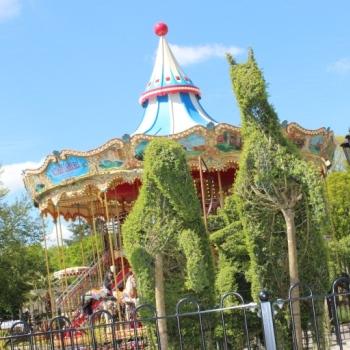 Victorian Double Decker Carousel