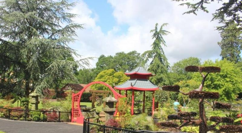 The Japanese Garden Has Been Created To Bring A Sense Of Relaxation Away  From The Excitement Of The Rides And Attractions. In Many Japanese Gardens  You Will ...