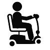 Scooter électrique pliable