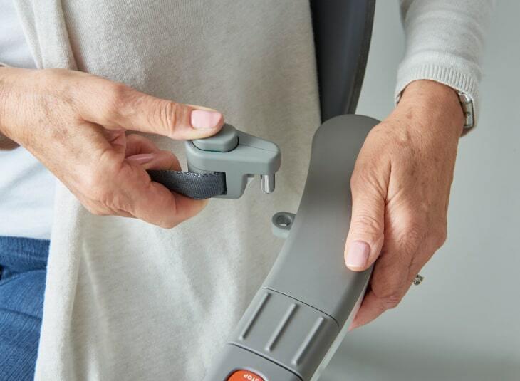 Flow X Kurviger Treppenlift Sichherheitsgurt Automatisch Aufrollend