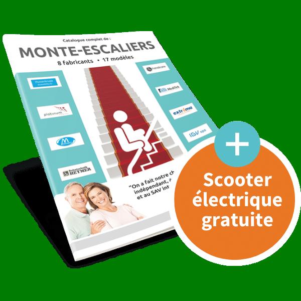Brochure Monte Escalier Mockup Confort