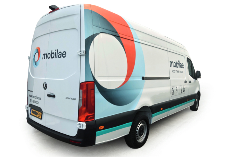 Mobilae Traplift Thuis Levering