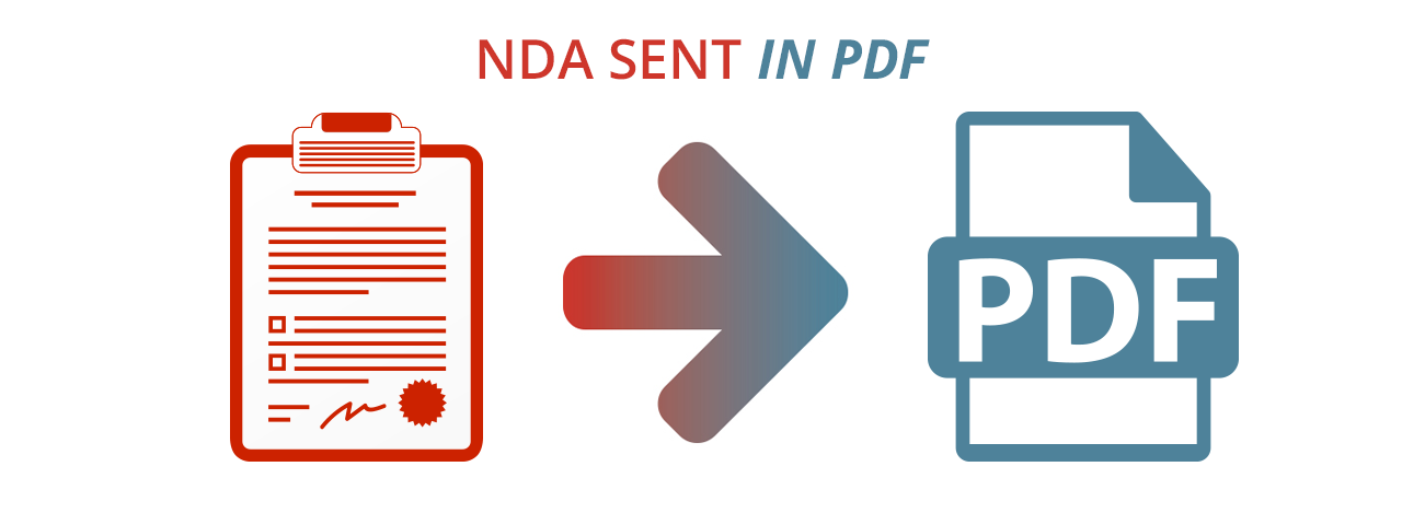 NDA sent in PDF