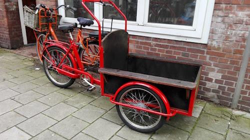Driewieler transportbakfiets huren